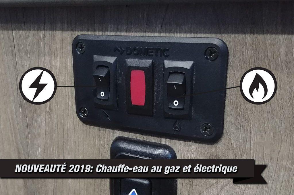 Chauffe-eau Électrique et au gaz