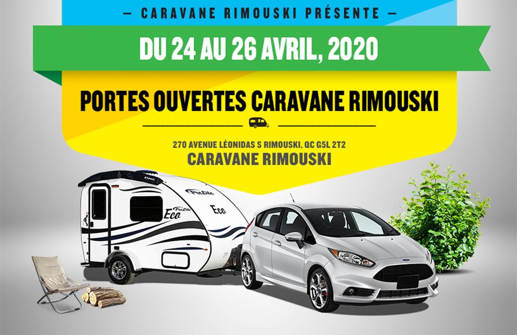 EXPOSITION ROULOTTES PROLITE-QUÉBEC-Rimouski - Caravane Rimouski ( 24-26 avril 2020)