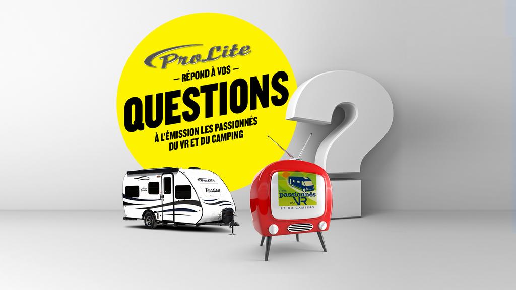 Prolite répond à vos questions!